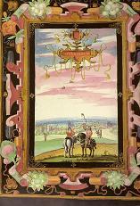 Vertain d'après une peinture du Duc de Croÿ en 1601